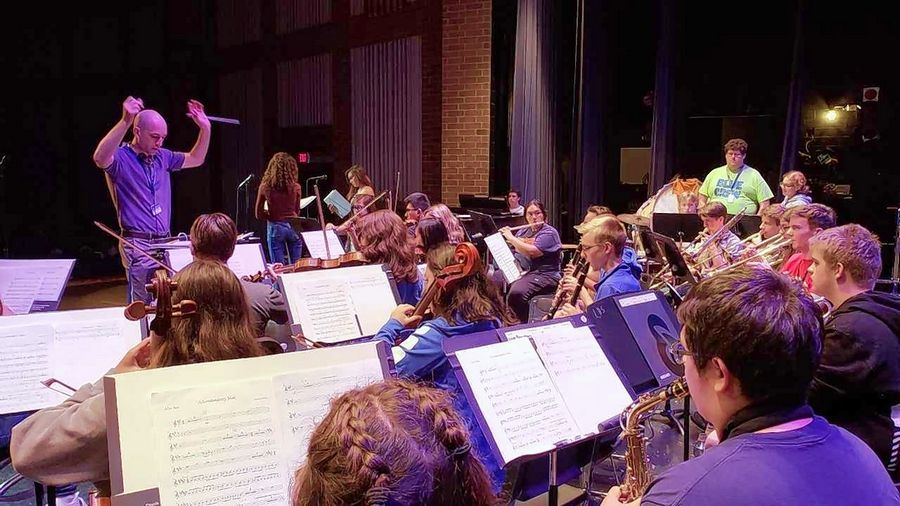 "Larkin High School's Visual and Performing Arts Academy students spent a year and a half producing an original musical titled ""Ocean Born Mary."" The free concert reading-style performance will be at 7 p.m. Thursday and Friday in the Larkin auditorium."