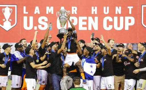 houston dynamo win us open cup title beating union 3 0