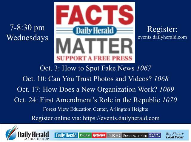 Editorial: Join the Facts Matter community conversation