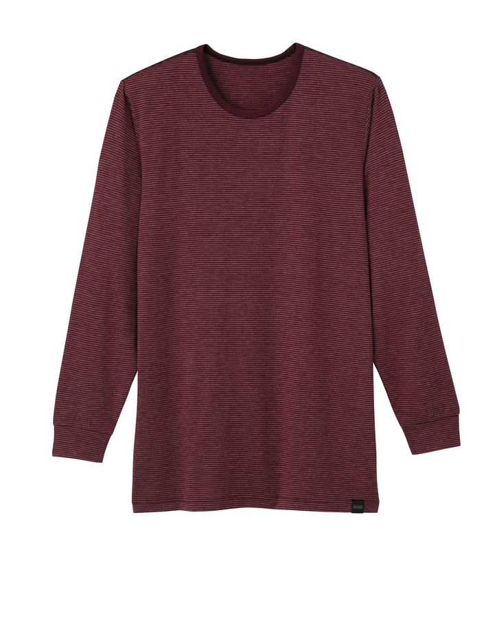 This product image courtesy of Uniqlo shows a Uniqlo Heattech top. The functional wicking layer, that over the last few years has become a favorite of skiers, hikers, runners and other athletes.
