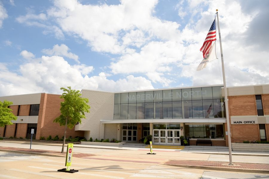 Naperville North High School was among several suburban school named a National Blue Ribbon School by the U.S. Department of Education on Monday.