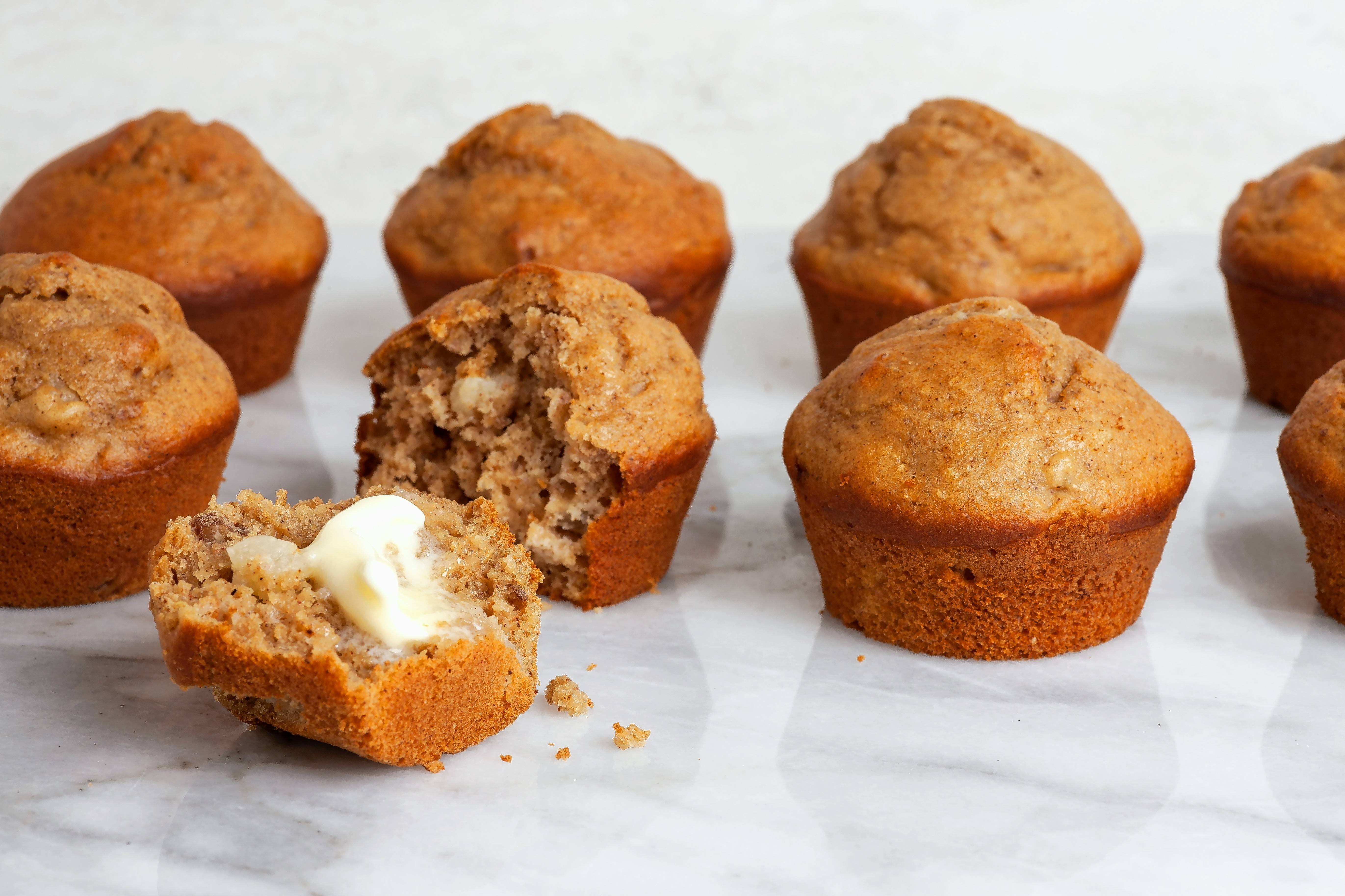 When you've had it up to here with pumpkin spice, try Pear Spice Muffins.