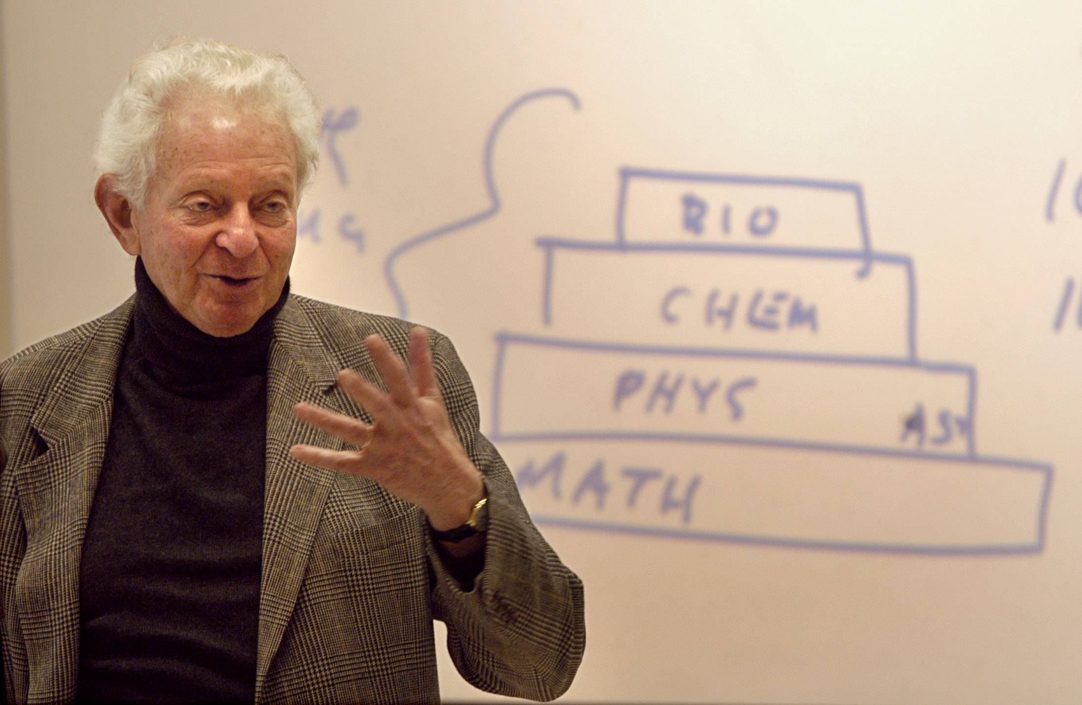 A Nobel Prize winner, Leon Lederman was director of Fermi National Accelerator Laboratory from 1978 to 1989.