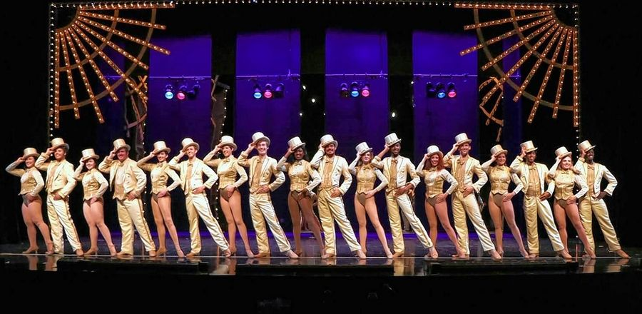 """A Chorus Line"" concludes with a glittering finale at the Metropolis Performing Arts Centre."