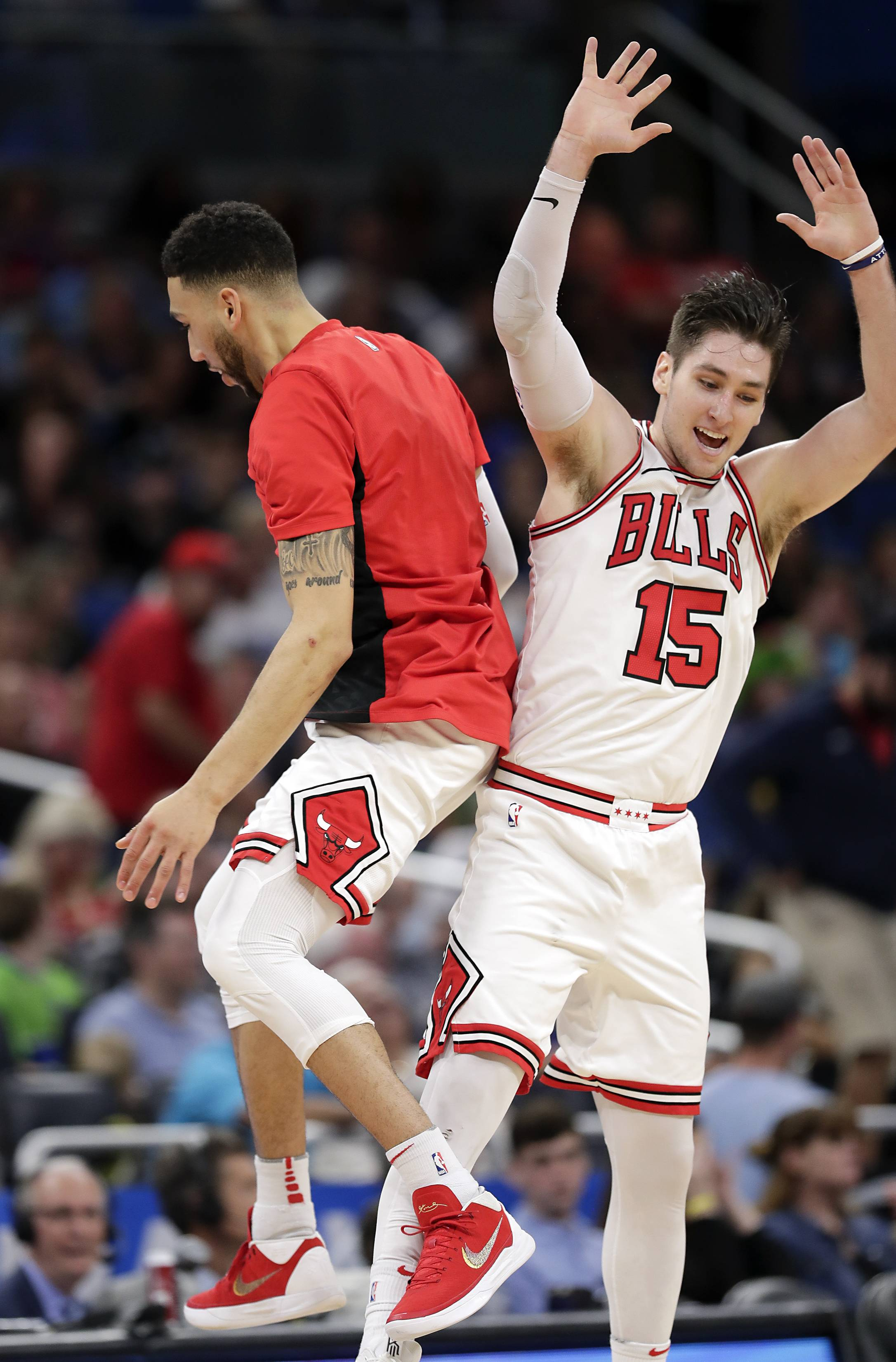 Bulls' Arcidiacono enjoyed suburban life, but is ready for a promotion