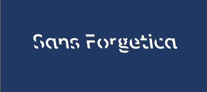Sans Forgetica was designed by Australian researchers as a reading retention tool.