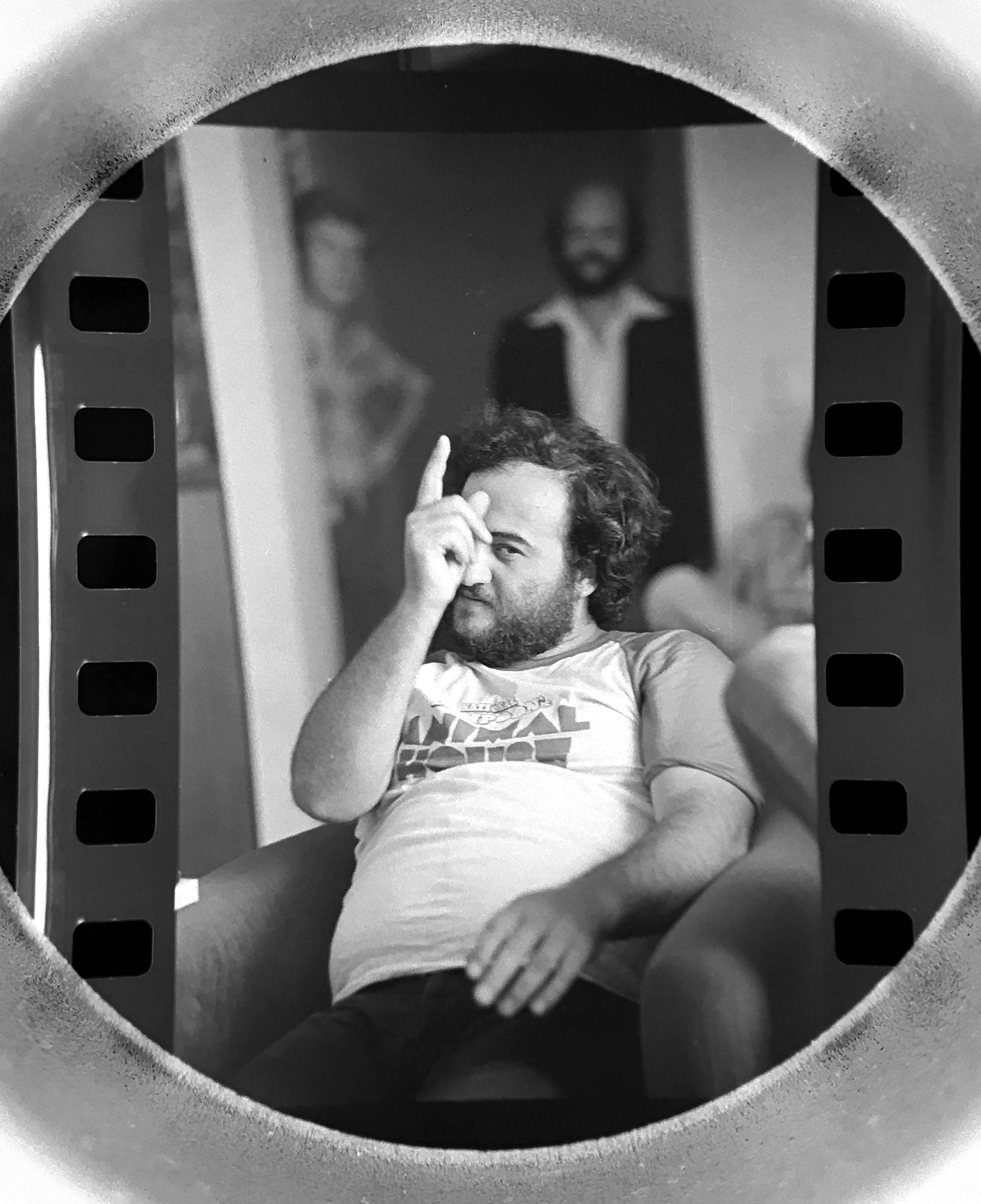 Images: Through the Film Magnifier: Johnny Cash, Homing Pigeons, John Belushi, Ted Nugent, Marshall Brodien and more.