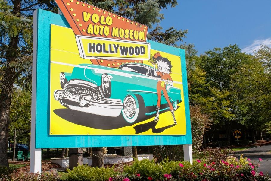 In addition to a collection of vintage cars, many movie and TV vehicles have found a home in Volo.