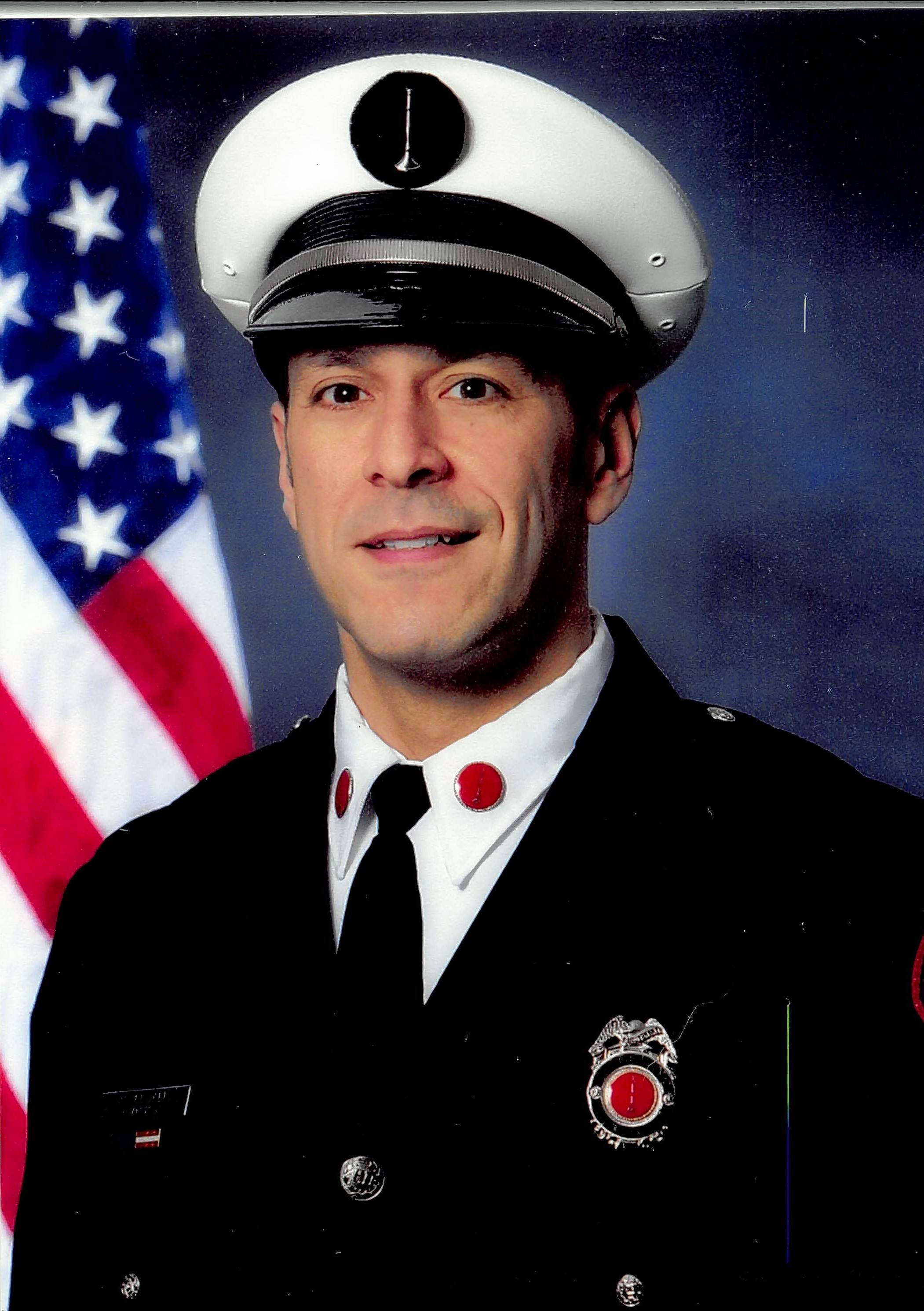 Wheeling Fire Department Lt. Steve Mella