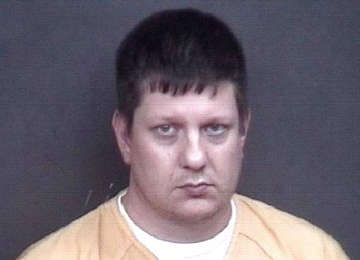 This undated photo provided by the Rock Island, Ill. Sheriff's Department shows Chicago police Officer Jason Van Dyke. Van Dyke, convicted of murder in the 2014 shooting death of Laquan McDonald has been moved to the Rock Island County Jail in western Illinois and will remain there while he awaits sentencing. Rock Island County Sheriff Berry Bustos says Van Dyke arrived Tuesday Oct. 9, 2018, to the jail along the Mississippi River. Bustos says Van Dyke will be held in protective custody out of the jail's general population.(Rock Island Sheriff's Department via AP)