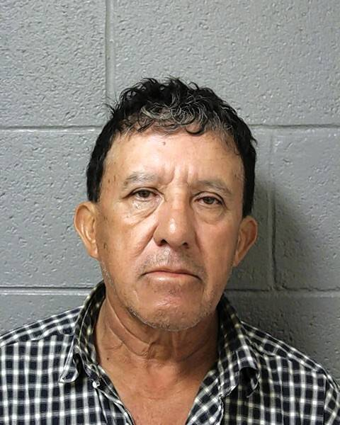 Hinigo Olvera, 67, of Schaumburg is charged with aggravated DUI in connection with an Oct. 8 crash that killed a pregnant mother of four.