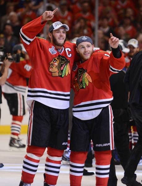 why the chicago blackhawks success starts with solid team chemistry