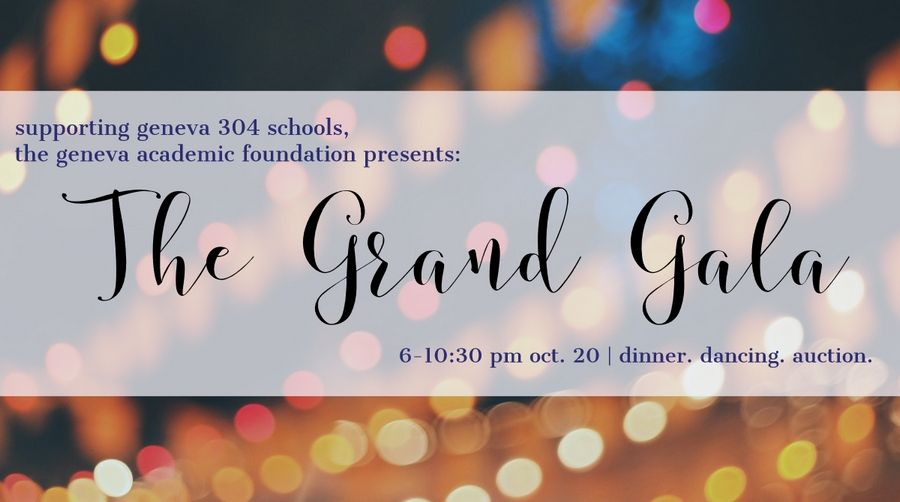 "Get tickets for the Geneva Academic Foundation's annual ""Grand Gala"" on Saturday, Oct. 20, at Dunham Woods Riding Club in Wayne."