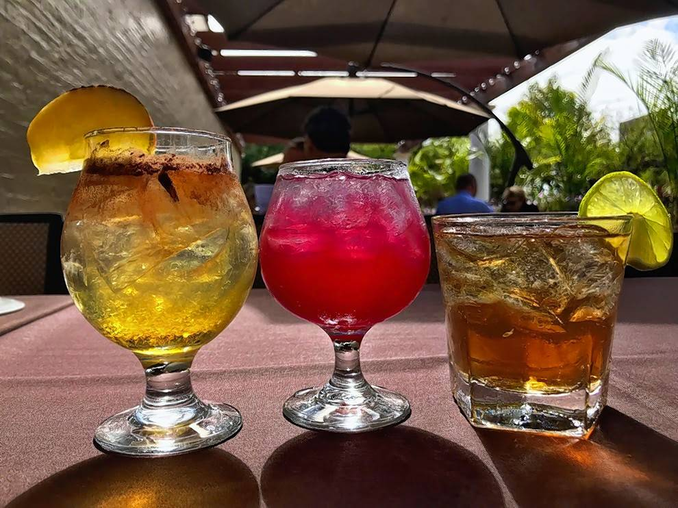 Tuscany is mixing up Halloween-themed drinks during October, including the Apple Cider Moscow Mule, left, The Devils Margarita and the Dark and Stormy.