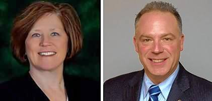 Democrat Mary Mahady and Republican Craig Wilcox are candidates for the 32nd state Senate District seat.