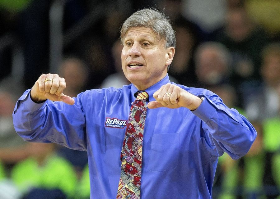 DePaul head coach Doug Bruno, who is beginning his 33rd season at the helm, has a talented roster this season.