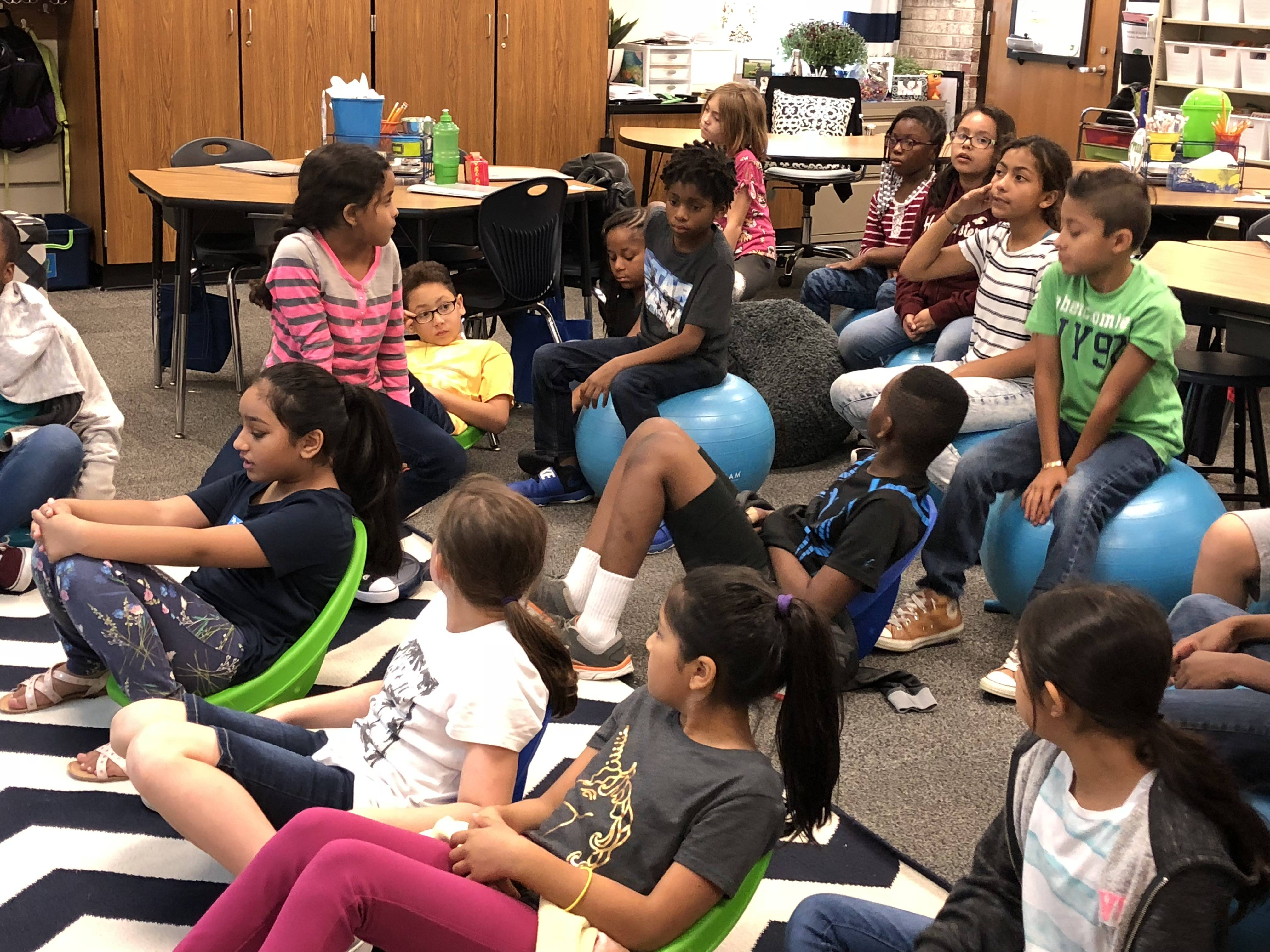 Flexible Seating In District 54 Classrooms Helps To Ensure Student