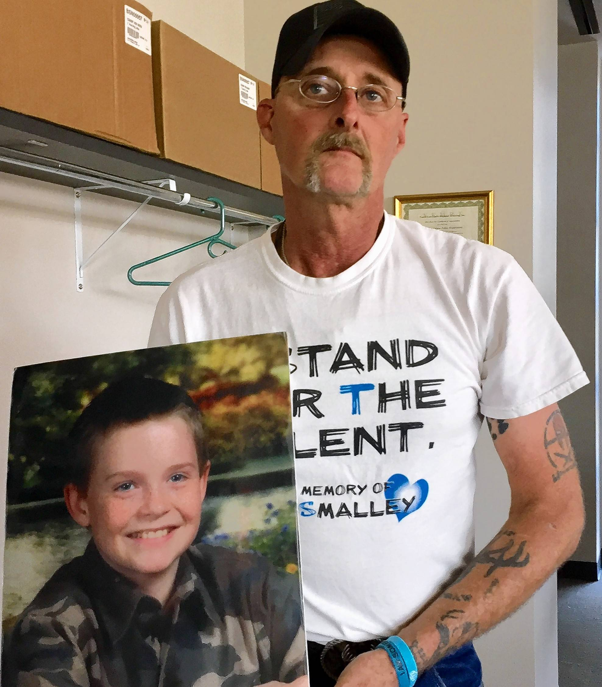Activist Kirk Smalley of Oklahoma was inspired by the death of his son, Ty, to embark on a nationwide campaign against bullying.