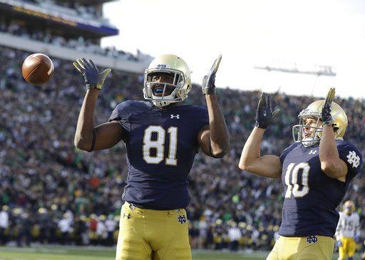 Book, Boykin bail out No  5 Notre Dame in 19-14 win vs Pitt