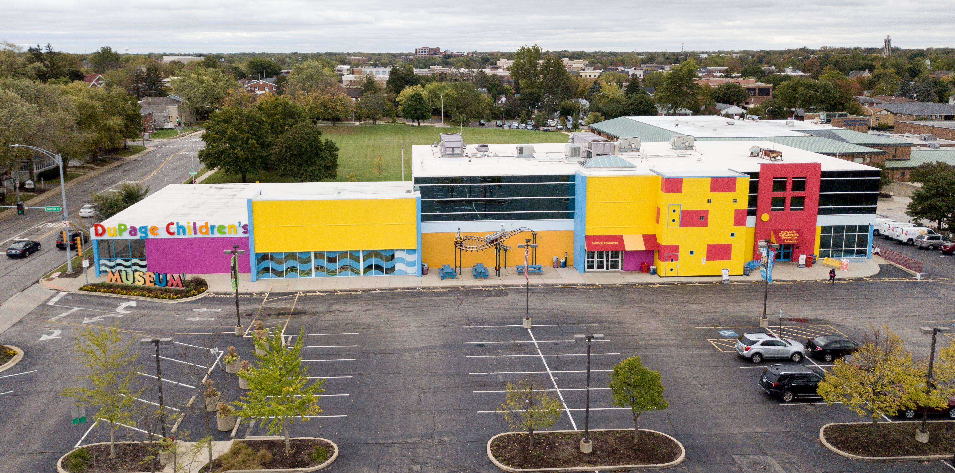 The DuPage Children's Museum's property at 301 N. Washington St. in Naperville is among city-owned land included as part of a redevelopment project along 5th Avenue near the train station. The museum could stay there, with new uses built around it, or officials could decide to move it to one of four other sites in town.