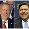 Rauner jumps on Pritzker for hiring nonunion workers; labor leader unmoved