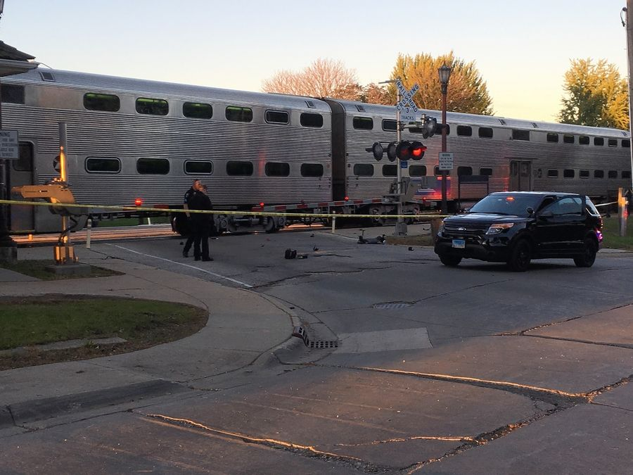 Woman in wheelchair survived being struck by Metra train in Hinsdale