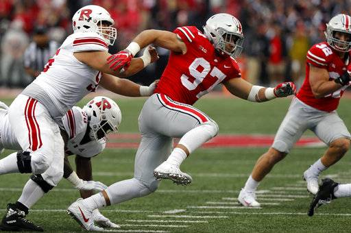 Injured Bosa leaves Ohio State to prep for pro career