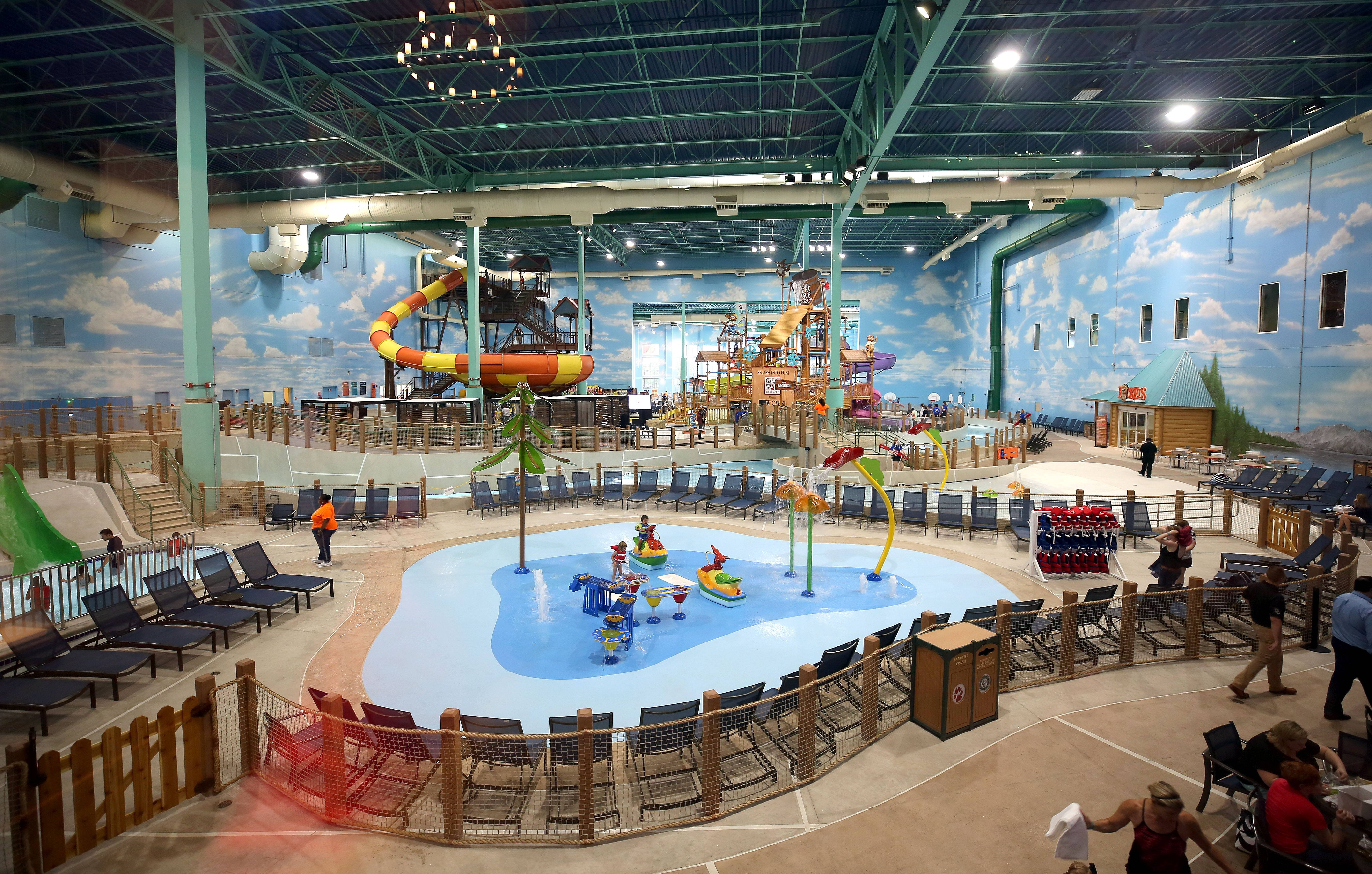 The Great Wolf Lodge invested $65 million to transform a water park in Gurnee, opening earlier this year.