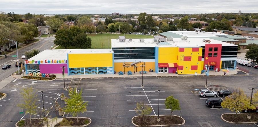 The future location of the DuPage Children's Museum is under consideration as the city prepares to refine concepts for redevelopment of properties along 5th Avenue near the train station, including the museum site.