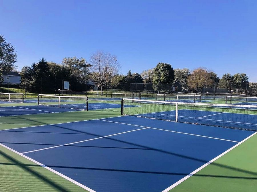 "Six outdoor pickleball courts are scheduled to open Thursday at Deerpath Park in Vernon Hills. ""Pickleball is the number one most-growing sport in the country right now,"" said Jeff Fougerousse, executive director of the Vernon Hills Park District."