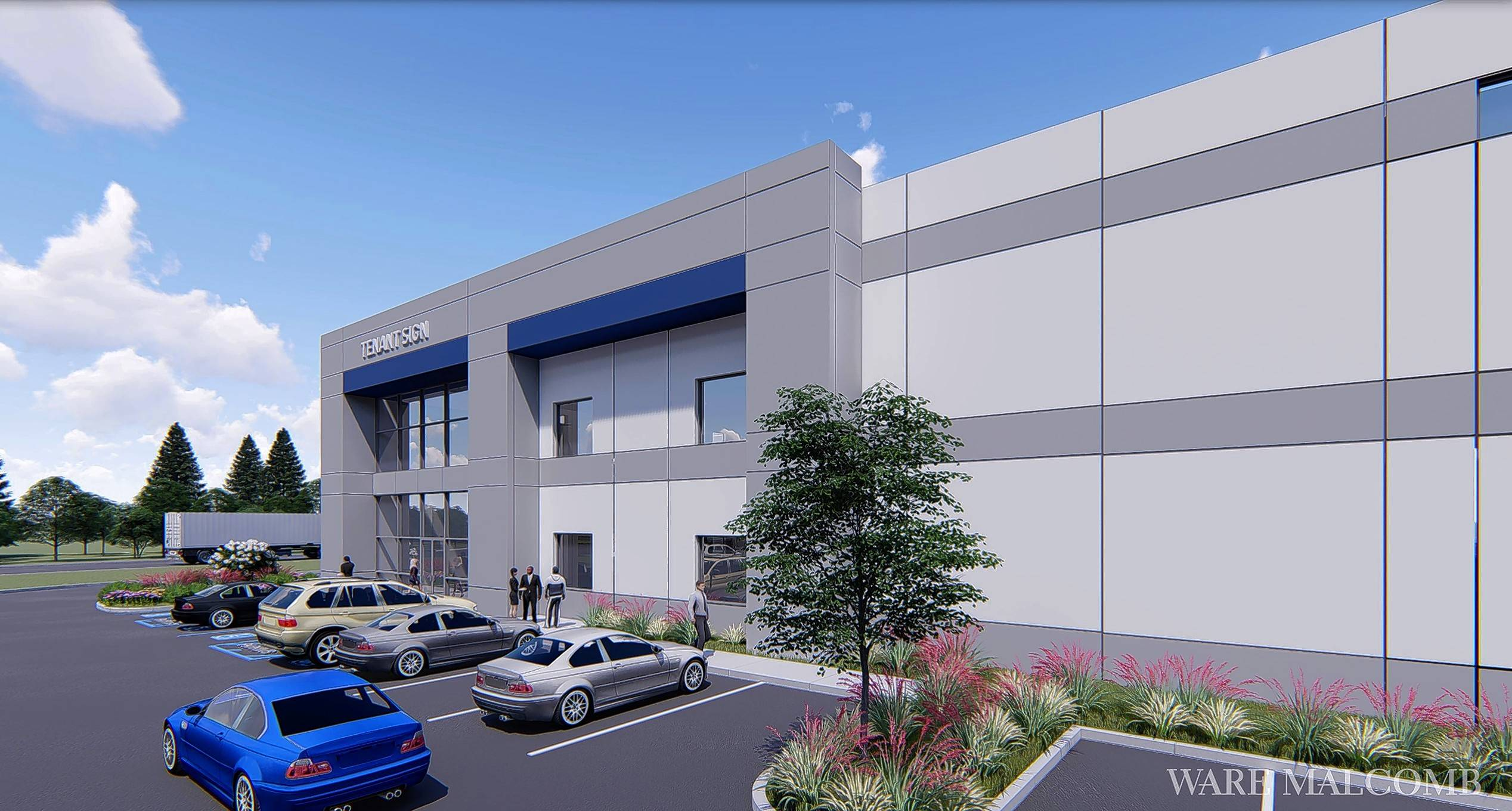 "Developers are ""actively marketing"" warehousing space in the North Avenue Commerce Center to e-commerce companies."