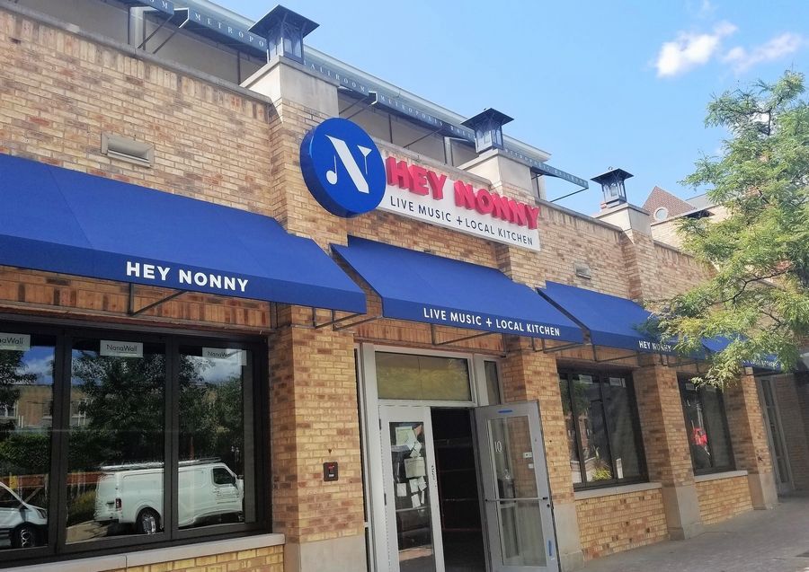 Hey Nonny, a new music venue and gastropub in downtown Arlington Heights, officially opened its doors Wednesday.