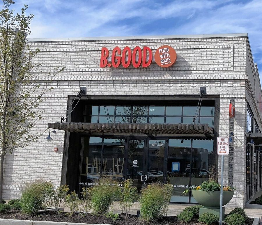 B. Good, a fast-casual restaurant chain featuring natural and locally produced ingredients, is opening the first of three suburban locations next week in Vernon Hills.