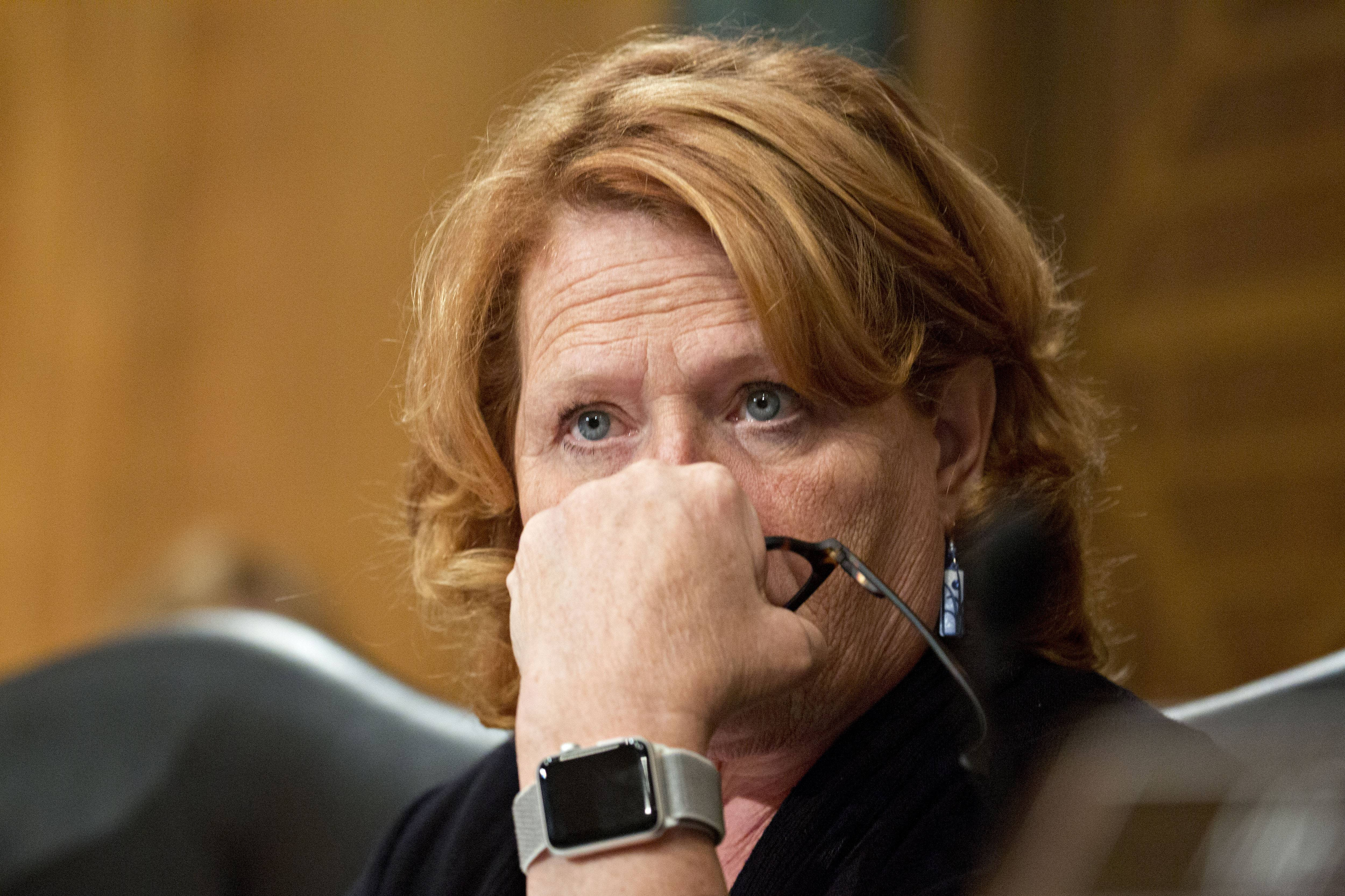 Heitkamp says unauthorized list of abuse victims' names could be from 'Facebook feed'