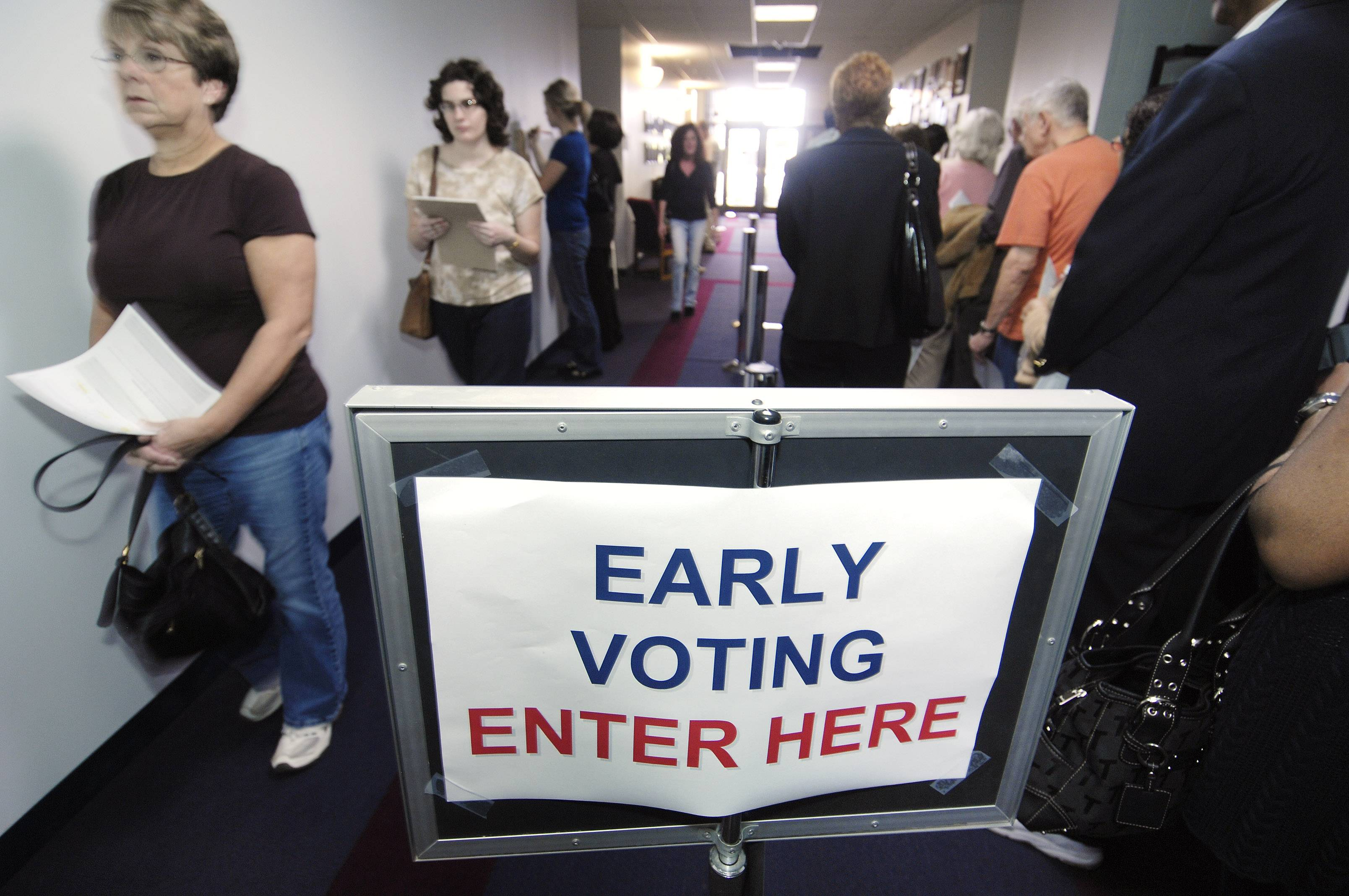Early voting has grown in popularity each year since its introduction in Illinois in 2006. Election officials expect more voters to use the option this year than ever before.