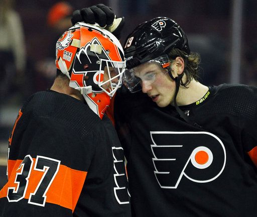 promo code a3630 69ab3 Voracek puts Flyers ahead, defense shines in win over Devils