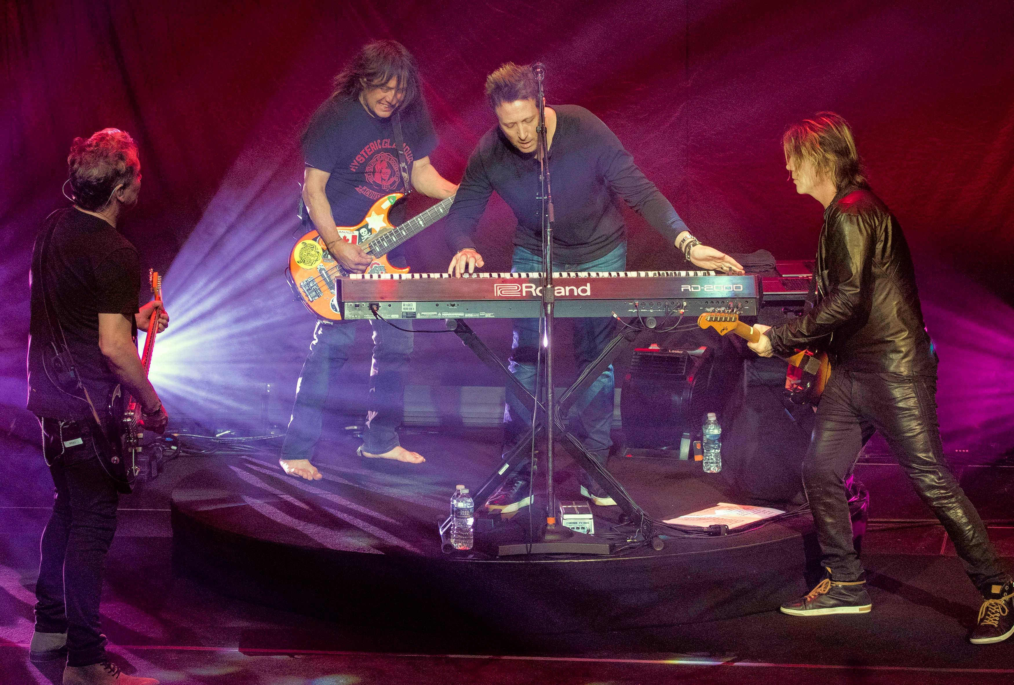 "The Goo Goo Dolls celebrate 20 years of ""Dizzy Up the Girl"" Friday, Oct. 26, at the Chicago Theatre."