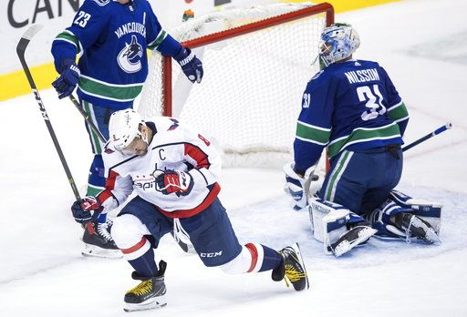 Ovechkin Has 2 Goals 2 Assists As Caps Beat Canucks 5 2