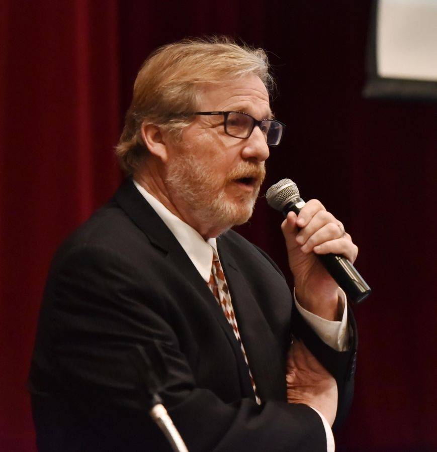 "Daily Herald Editor John Lampinen said people must be actively engaged in seeking the truth and challenge their own views during the last of five ""Facts Matter"" presentations Wednesday in Arlington Heights."