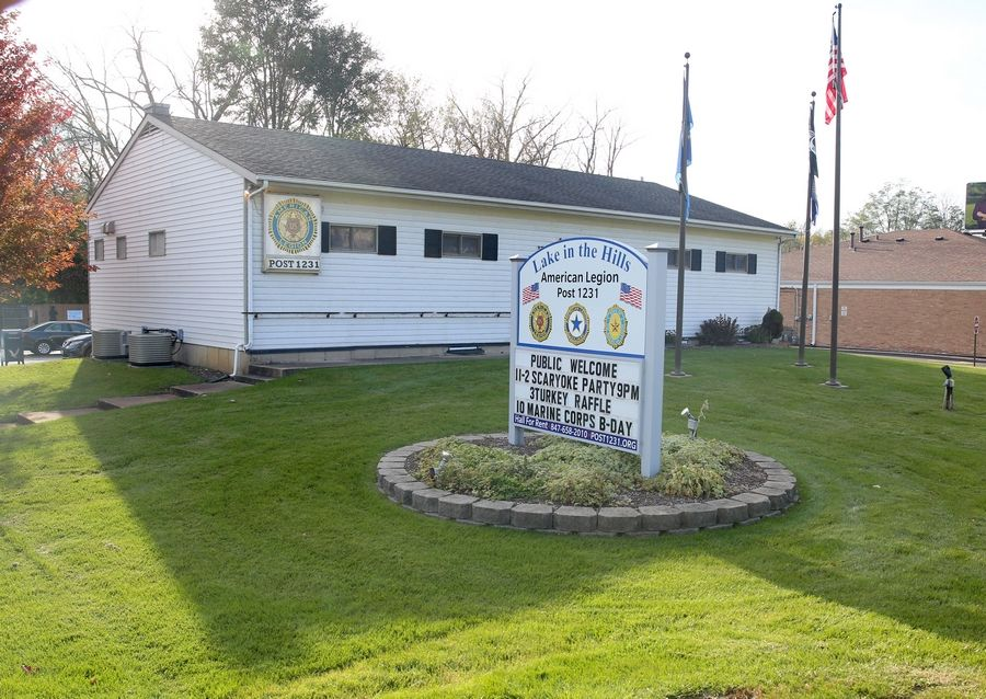 Leaders with the American Legion Post 1231 in Lake in the Hills hope a Queen of Hearts raffle will help the group update its building.
