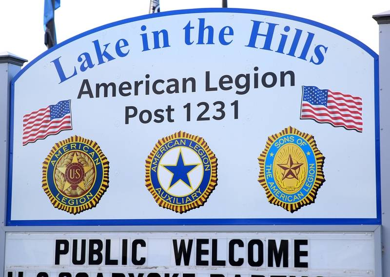 Lake in the Hills American Legion Queen of Hearts raffle set