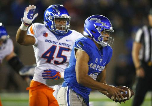 Rypien Slices Air Force In Boise State S 48 38 Win