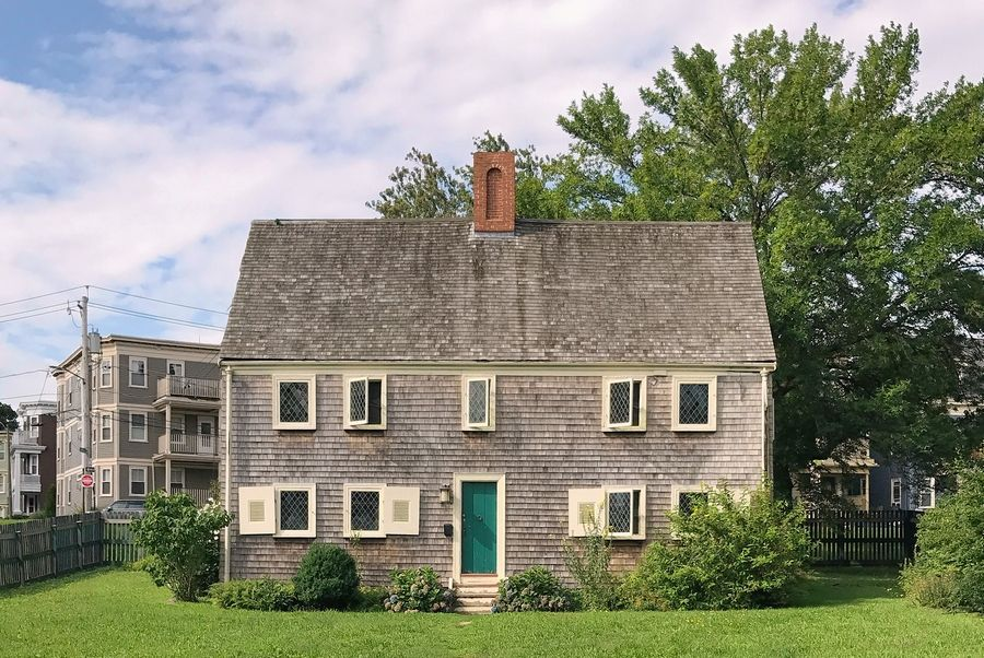 The James Blake House, located in Boston's Dorchester neighborhood, was built in 1661. The house is oldest in Boston, according to the Dorchester Historical Society, which owns the building.