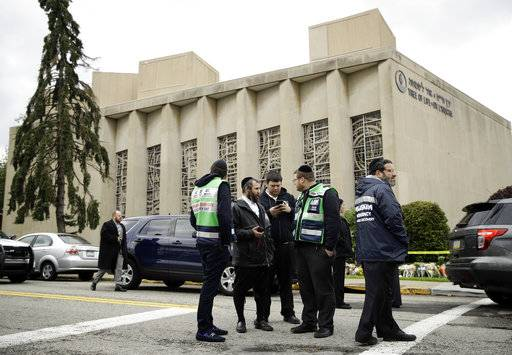 Synagogue attack shatters safety of longtime Jewish enclave