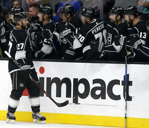 new product e172d 50bc9 Martinez's late goal gives Kings win over Rangers, ends skid