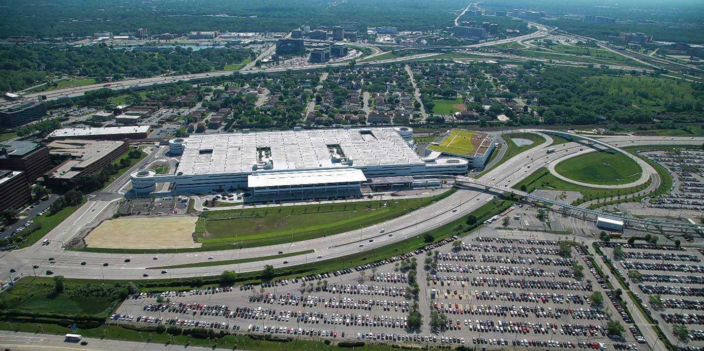 O Hare S Parking Lot F Reborn With A Car Rental Twist