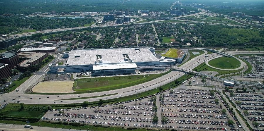 O Hare Parking >> O Hare S Parking Lot F Reborn With A Car Rental Twist