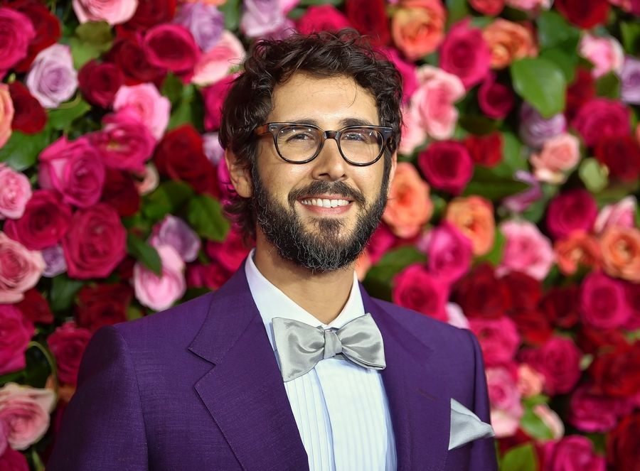 Josh Groban arrives at the 72nd annual Tony Awards at Radio City Music Hall on Sunday, June 10, 2018, in New York. (Photo by Evan Agostini/Invision/AP)