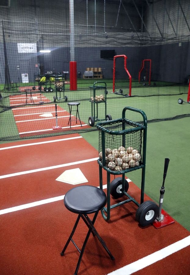 Batting tunnels have been upgraded at MVP Sports Academy in Lake Zurich.