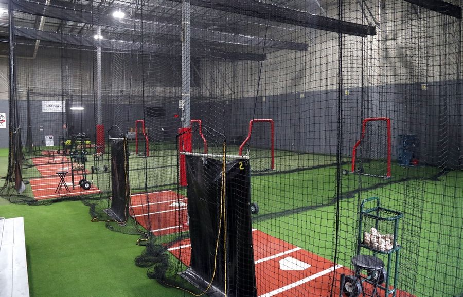 New batting cages have been installed at MVP Sports Academy in Lake Zurich.